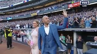 Derek Jeter introduced on Jeter Night in the Bronx