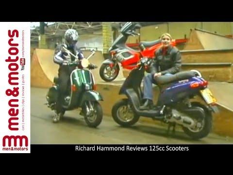 Richard Hammond Reviews 125cc Scooters