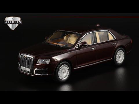 Aurus Senat S600: отзыв владельца    DiP Models    Масштабная модель 1:43