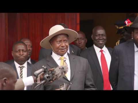 Ugandan leader calls for inclusive dialogue in South Sudan