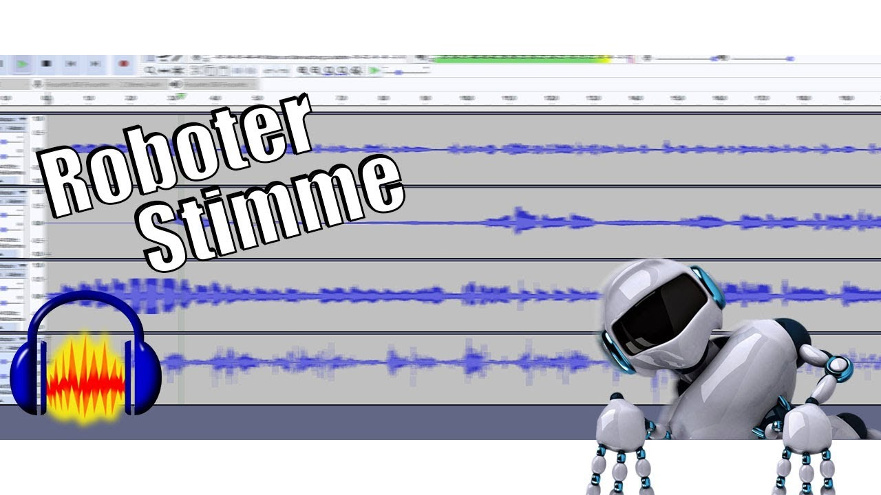 Roboter Stimme