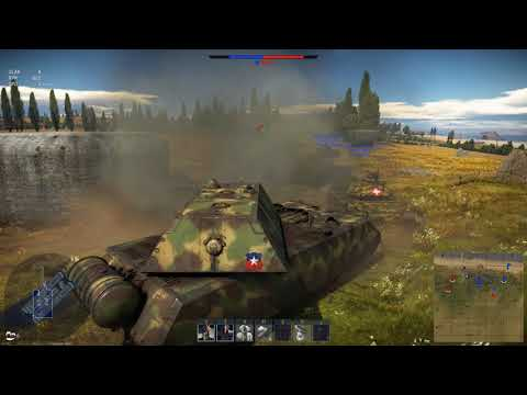 War Thunder Maus Gameplay #4