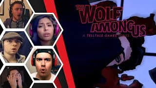 Let's Players Reaction To The Tragic Ending Of Chapter 1 | The Wolf Among Us