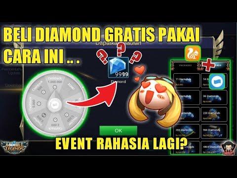 WAJIB COBA?! CARA DAPAT RIBUAN DIAMOND MOBILE LEGENDS GRATIS? 2019