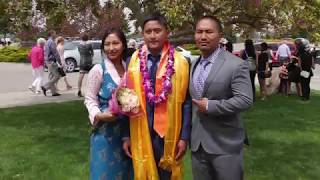 Tenzing's Graduation
