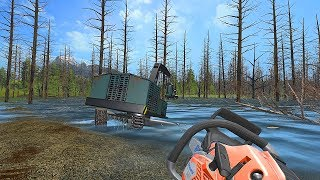 РУССКИЕ МАЛЬДИВЫ ! НАЧАЛО СТРОЙКИ - FARMING SIMULATOR 2017