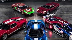 Ford GT Heritage Photo Shoot with Anthony Ross Tyler- Classic Auto Insurance