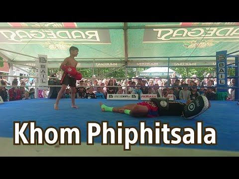 Khom Phiphitsala🇹🇭 Muay Thai Show in Kravec Gym Teplice, CZ