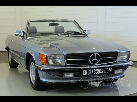 mercedes benz 280 sl cabriolet 1983 in very good condition. Black Bedroom Furniture Sets. Home Design Ideas