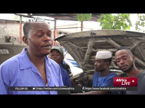 Mechanics in the DR Congo cash in on customizing engines