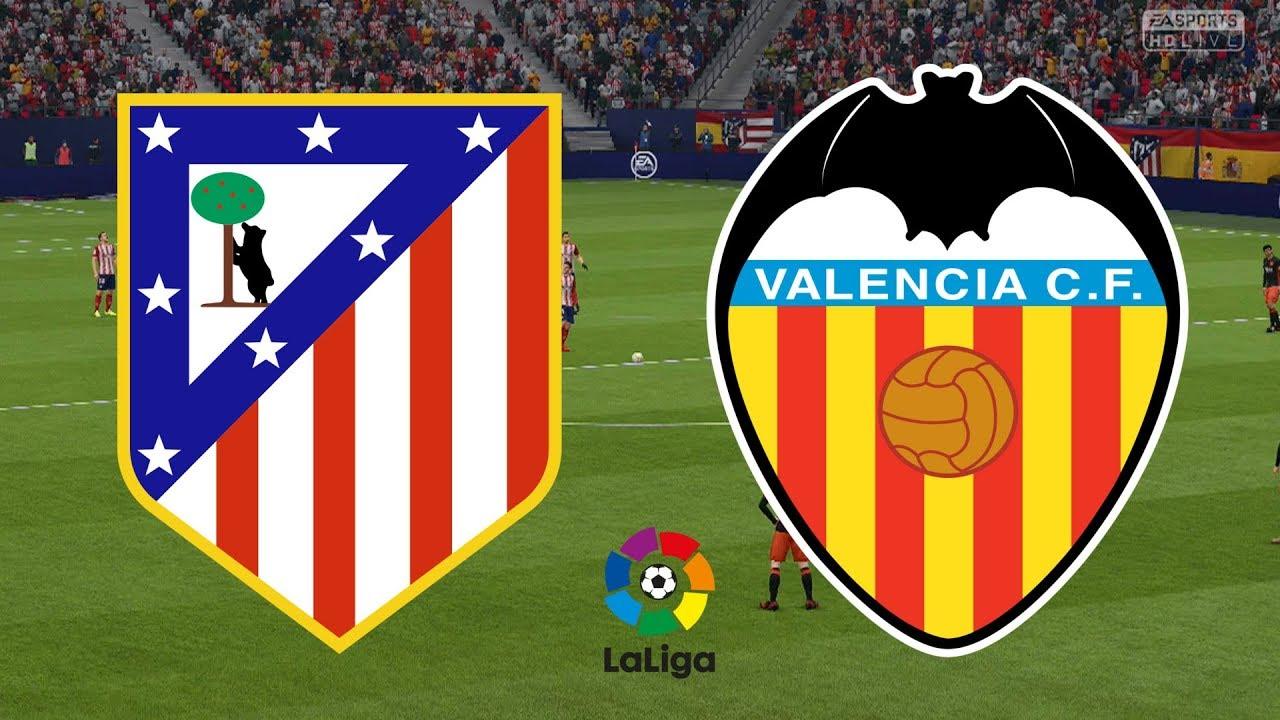 Prediksi Skor Atletico Madrid vs Valencia 19 Oktober 2019