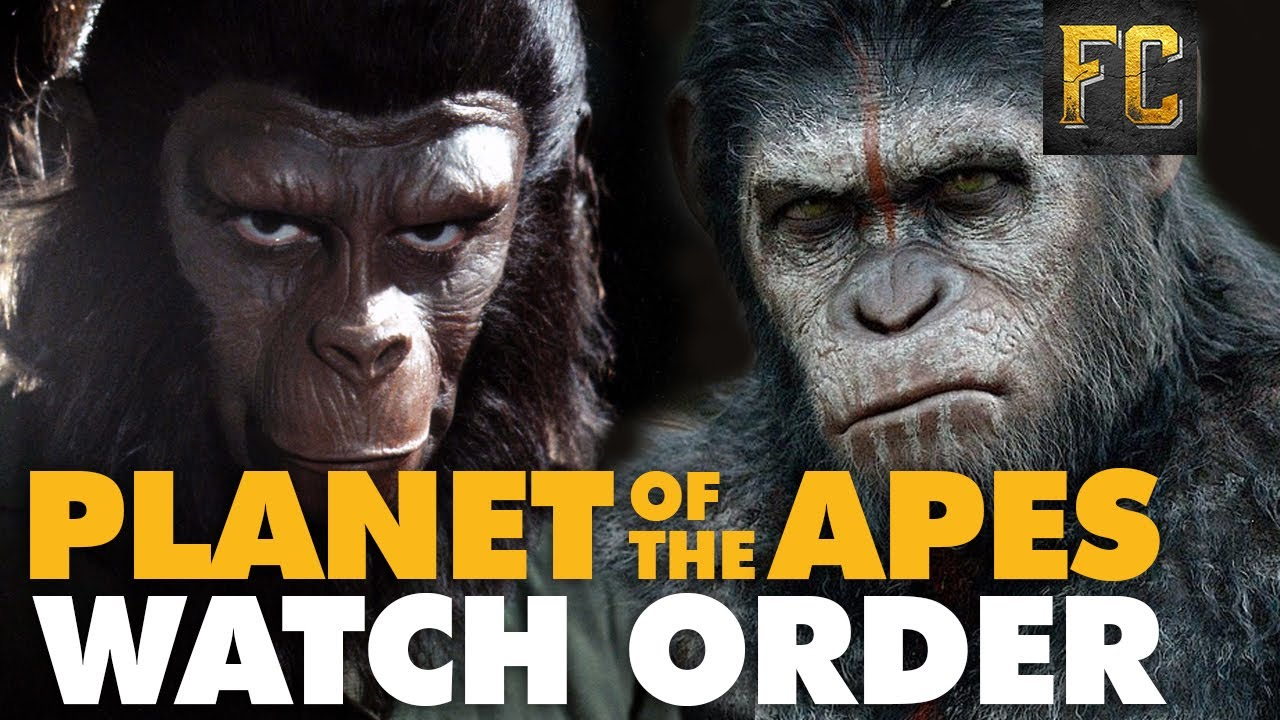 Download Planet of the Apes Watch Order 🙊 The Planet of the Apes Timeline | Flick Connection
