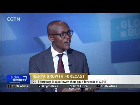 Kenya GDP growth cut.