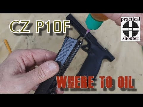 Cleaning a CZ P10F / P10C / P10s