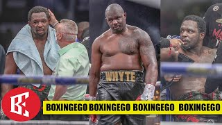 DILLIAN WHYTE PLAYING RUSSIAN ROULETTE WITH CAREER, 91 DAY REMATCH!