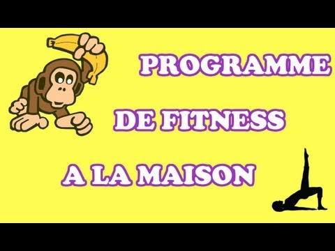 programme de fitness la maison gratuit youtube. Black Bedroom Furniture Sets. Home Design Ideas