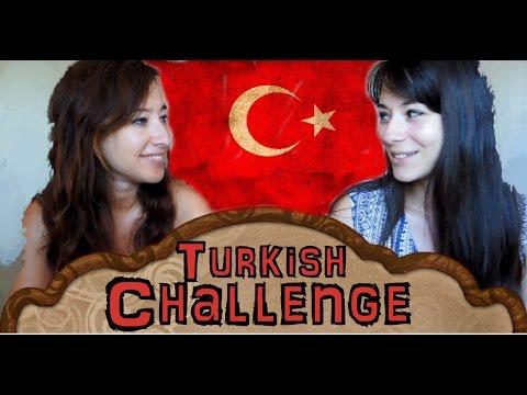 Reto DEL IDIOMA turco  Turkish LANGUAGE Challenge