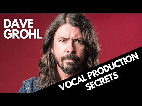 Dave Grohl Decoded: Isolated Vocals Reveal Production Secrets