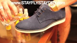 Stay Fly || Shoe Juice || Suede Test || Liquid Glass