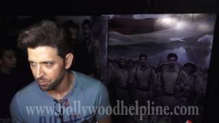 Raag Desh Movie Review By Hrithik Roshan | Hrithik Roshan At Special Screening Of Raag Desh