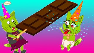 The Fox Family and friends adventure with sweets & candies - cartoon for kids new full episodes #884