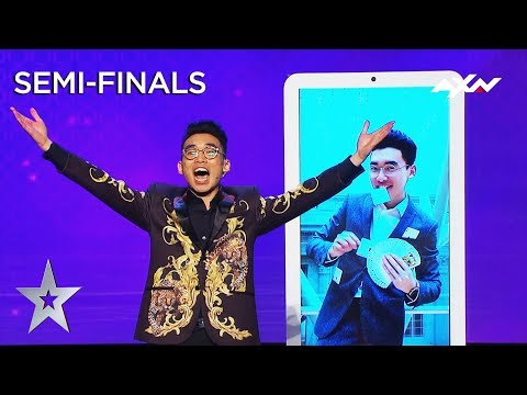 TK Jiang (Singapore) Semi-Final 3 - VOTING CLOSED | Asia's Got Talent 2019 on AXN Asia
