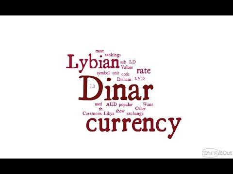 Lybian Currency - Dinar