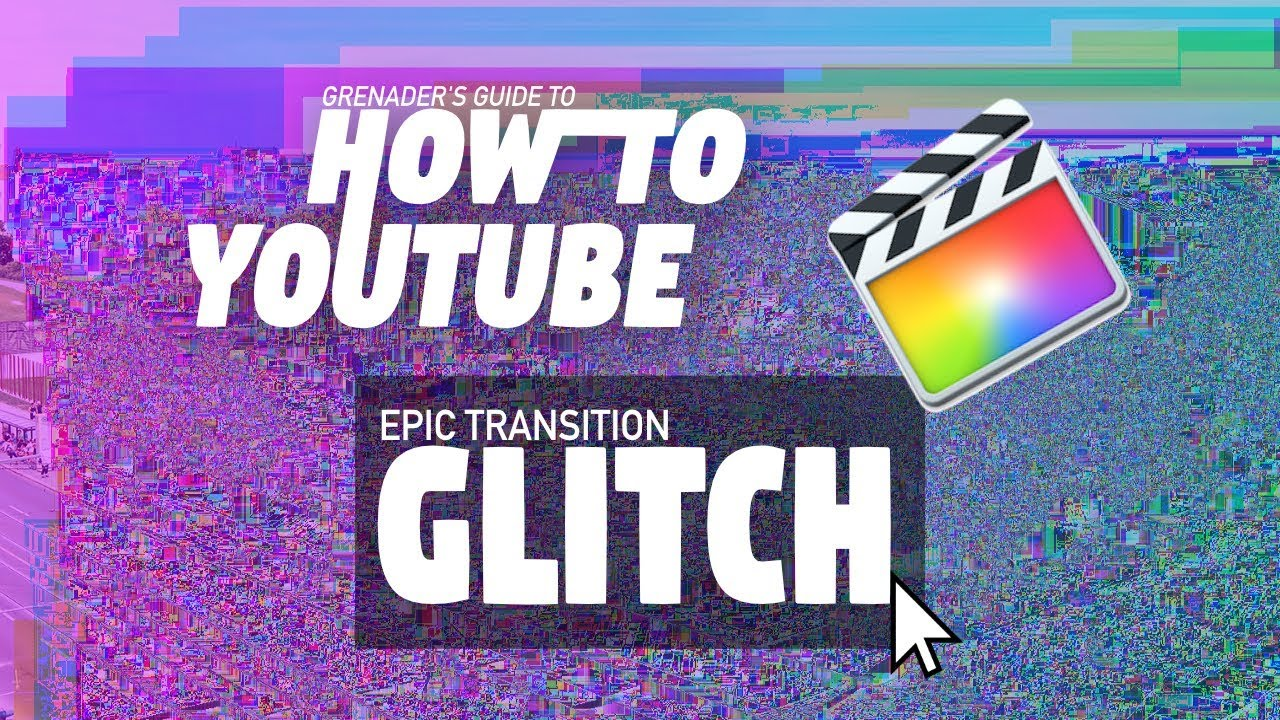 Final Cut Pro X Film Distortion Effects ProGlitch Glitch Art