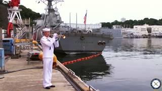 USS Fitzgerald Memorial Service