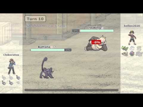 How to ruin a Pokemon battle | Rattata and Aron team