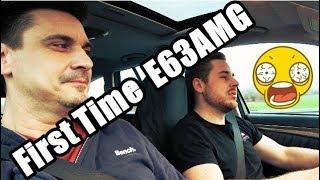 E63AMG... zwei Gaskranke auf 500PS Testfahrt 🤣