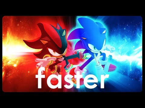 FASTER - Sonic & Shadow Parody Song | premydaremy