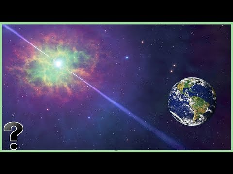 What If Earth Orbited A Pulsar?