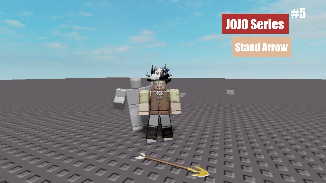 Roblox How To Jojo Stand Series Stand Arrow Part 5 Youtube Select from a wide range of models, decals, meshes, plugins 1. jojo stand series stand arrow part