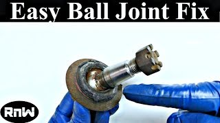 How to Diagnose and Replace a Bad Ball Joint