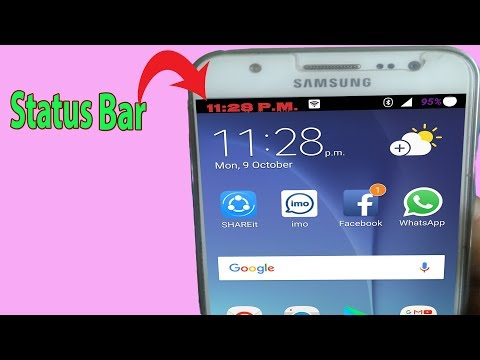 Android Status Bar-How To Customize The Status Bar On Android With Icons Color Without Rooting