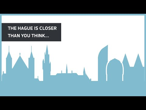 The Hague. It's closer than you think.