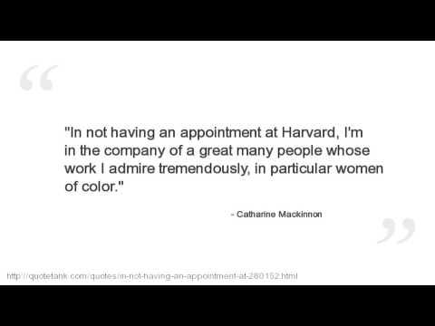 Catharine Mackinnon Quotes