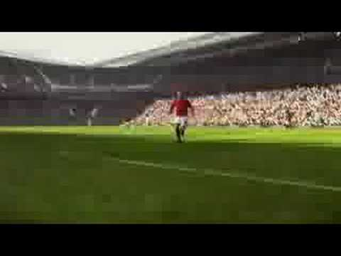 Lets FIFA09  Manchester United vs. Real Madrid TV Ad