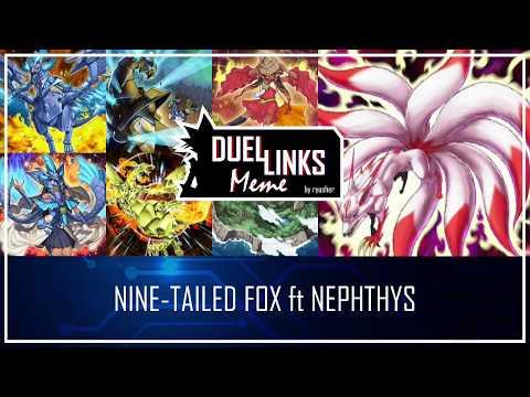 遊戲王 Duel Links 】284 九尾狐Nine-Tailed Fox 陽炎獸Hazy Flame