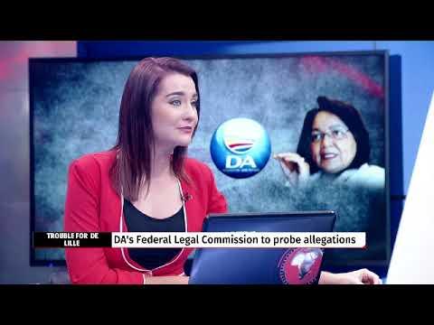 DISCUSSION: DA Federal executive decides on Patricia de Lille