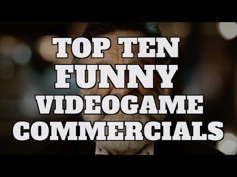 Top 10 Funny Video Game Commercials: SUPERCUT