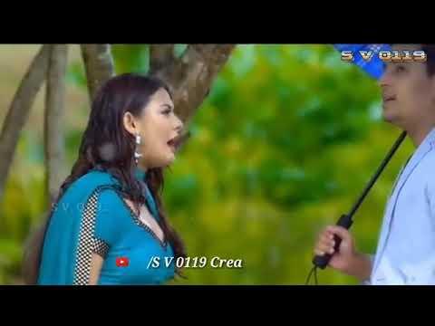 Hue Bechain pehli Baar song female WhatsApp status cute couple love story status by sv 0119 creation