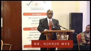 Mr  Njonjo Mue, Dr. Willy Mutunga farewel