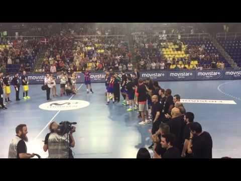 Kiril Lazarov last game in Palau Blaugrana