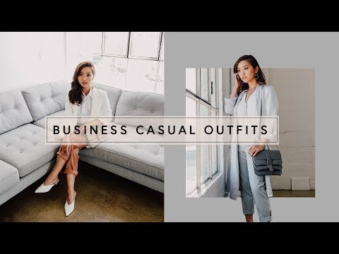 Business Casual Lookbook | Office Outfits