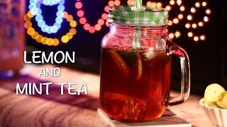 Lemon Ice Tea By Saffron Trail || Monsoon Special || IFN Quickies