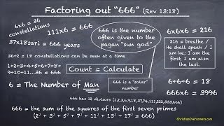 Part 1 - 666 Magic Square of The Sun (Revelation 13 L)