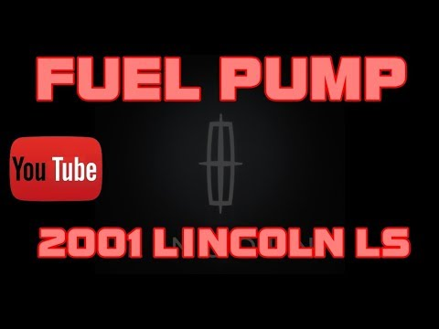 ⭐ 2001 Lincoln LS – 3.0 – Fuel Pump Replacement