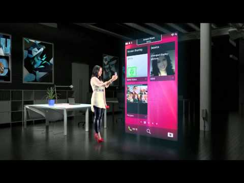 BlackBerry 10 Features  BBM Video Chat And Screen Share Demo